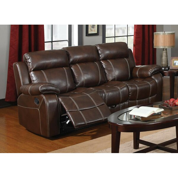 Cimarr Reclining Sofa by Winston Porter