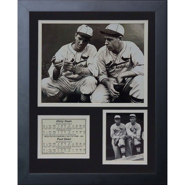 The Dean Brothers Framed Memorabilia by Legends Never Die