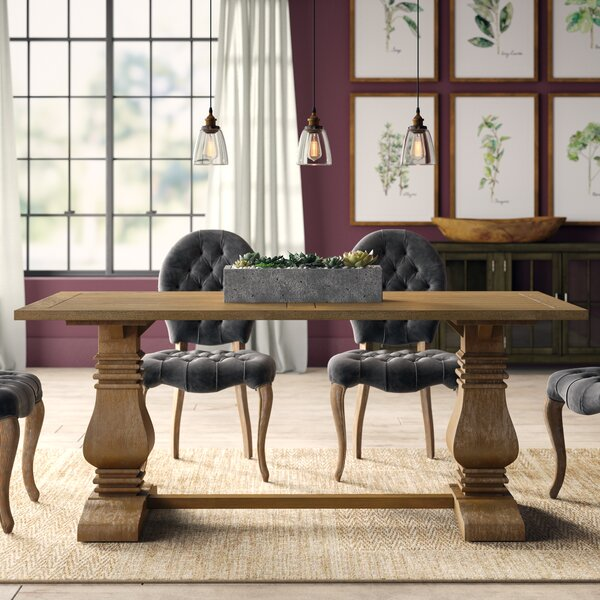Broadway Pedestal Dining Table by Greyleigh