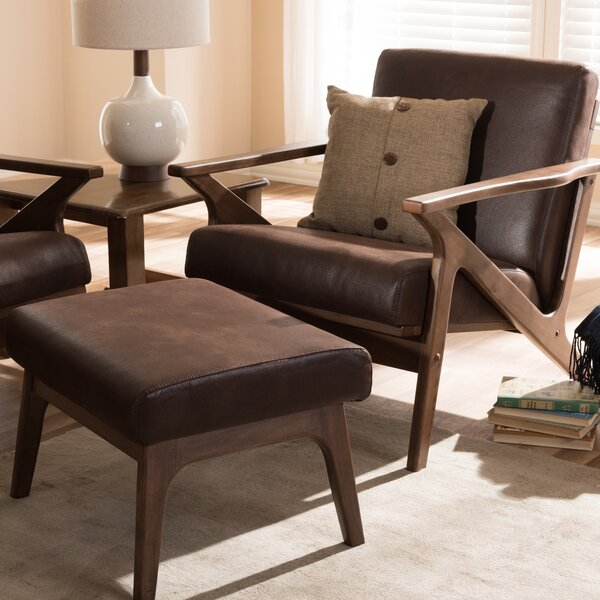 Wojtala Mid-Century Modern Solid 2 Piece Living Room Set by Union Rustic