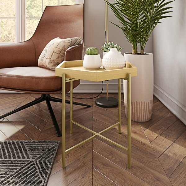 Bigham End Table By Wrought Studio