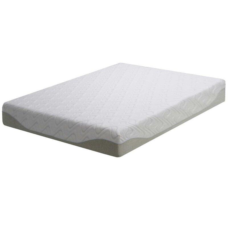 inch foam mattress ip img memory gel a homedics sams therapy size