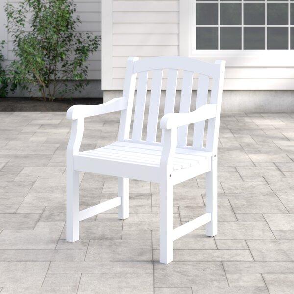 Zephyrine Patio Dining Chair by Beachcrest Home