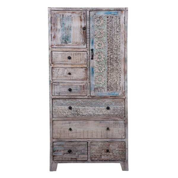 Karine Wardrobe TV-Armoire By Bloomsbury Market