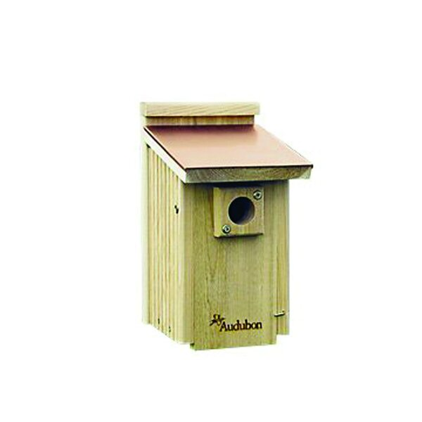 Barn Coppertop 13.5 in x 7.5 in x 9 in Bluebird House by Audubon/Woodlink