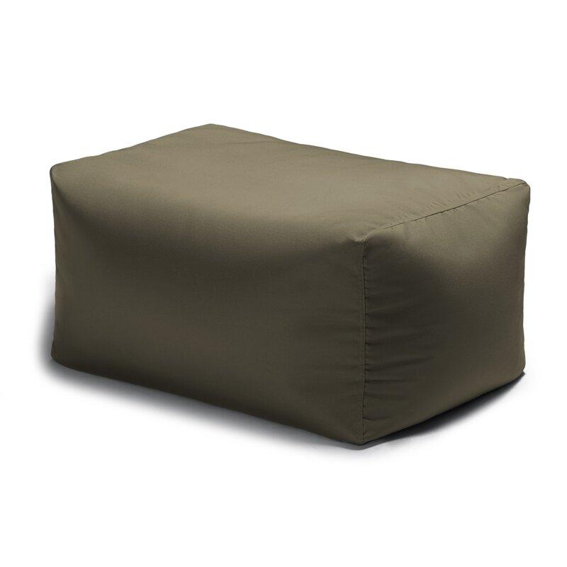 default_name - Zipcode Design Bowman Outdoor Bean Bag Ottoman & Reviews Wayfair