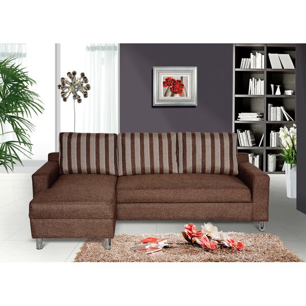 Tesch Sleeper Sectional by Ebern Designs
