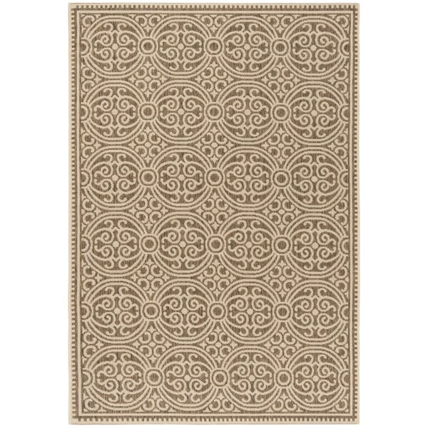 Burnell Cream/Beige Area Rug by Darby Home Co