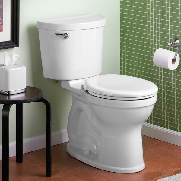Champion Pro 1.6 GPF Round Two-Piece Toilet by American Standard