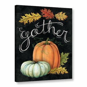 Autumn Harvest III Painting Print on Wrapped Canvas by The Holiday Aisle