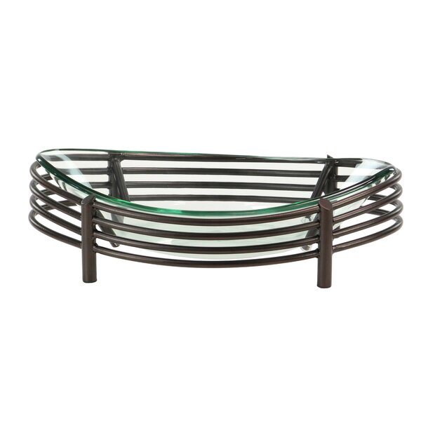 Alajalon Modern Curved Oval Decorative Bowl by Red Barrel Studio