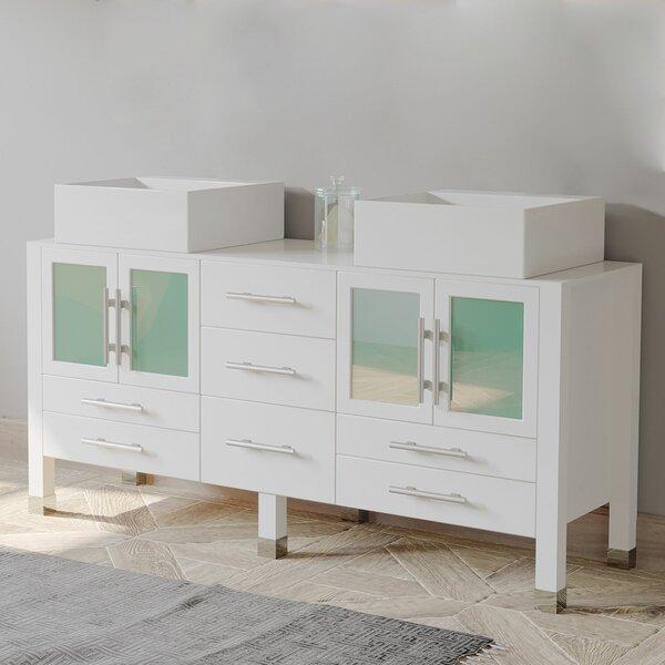 Mushinski 72 Double Bathroom Vanity Set