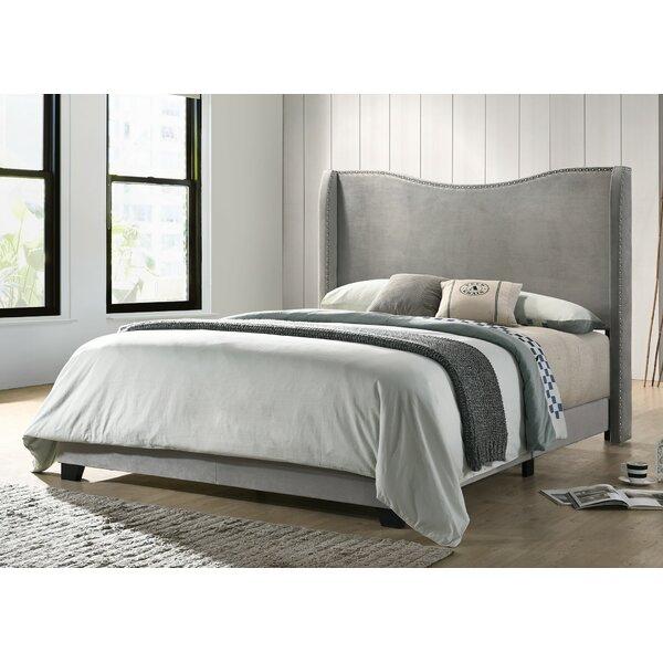Hudson Oaks Queen Upholstered Standard Bed by Charlton Home
