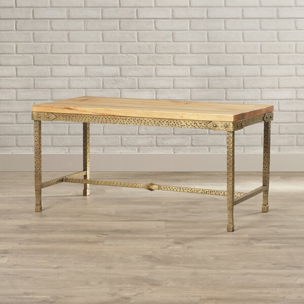 Mellie Gold Coffee Table by Trent Austin Design