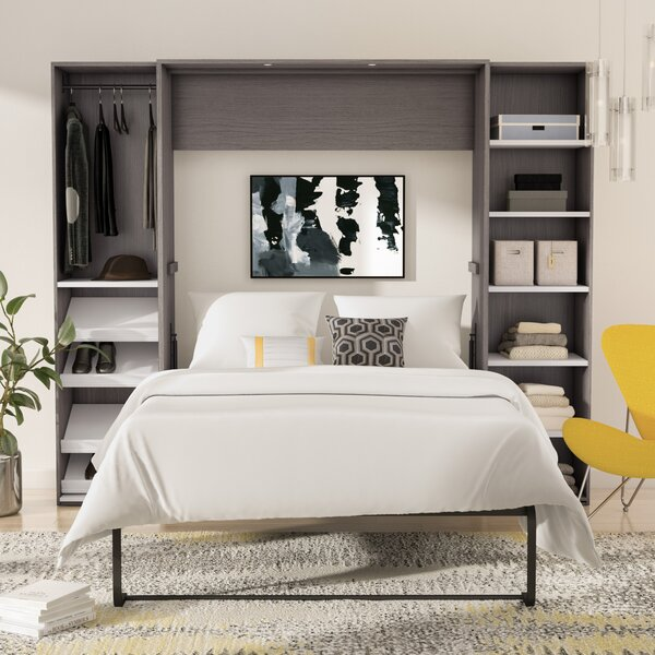 Medan Storage Murphy Bed by Wade Logan Wade Logan