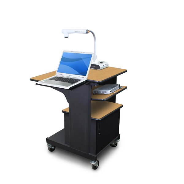 Vizion Benchmark Mobile AV Cart by Marvel Office Furniture