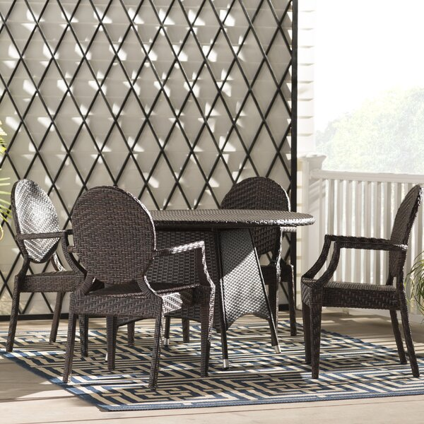 Greger 5 Piece Dining Set by Willa Arlo Interiors