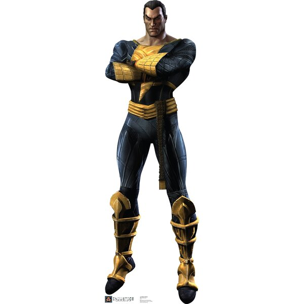 Black Adam - Injustice DC Comics Game Cardboard Standup by Advanced Graphics