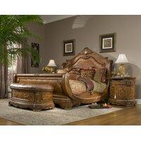 Michael Amini Cortina Panel Configurable Bedroom Set & Reviews   Wayfair