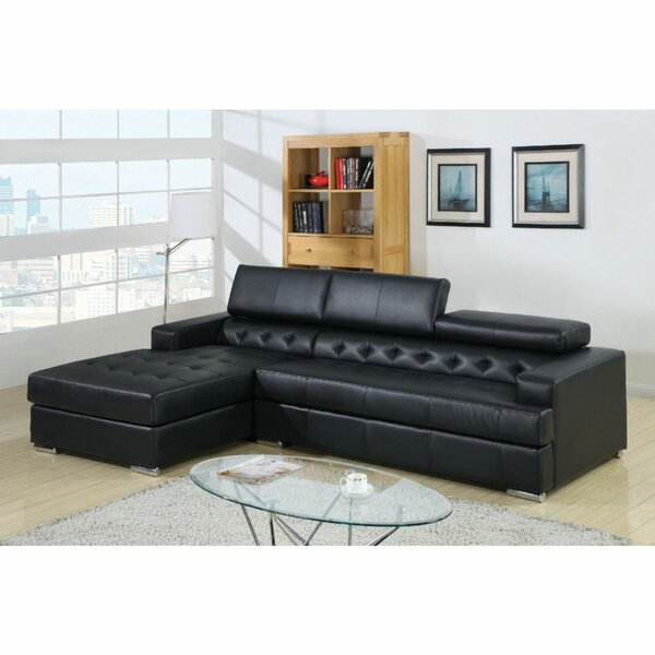 Mapes Left Hand Facing Modular Sectional by Orren Ellis