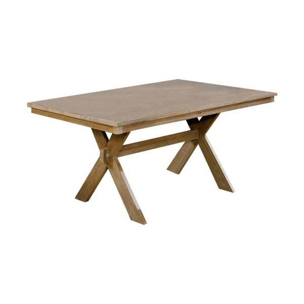 West Village Modern Dining Table by Millwood Pines