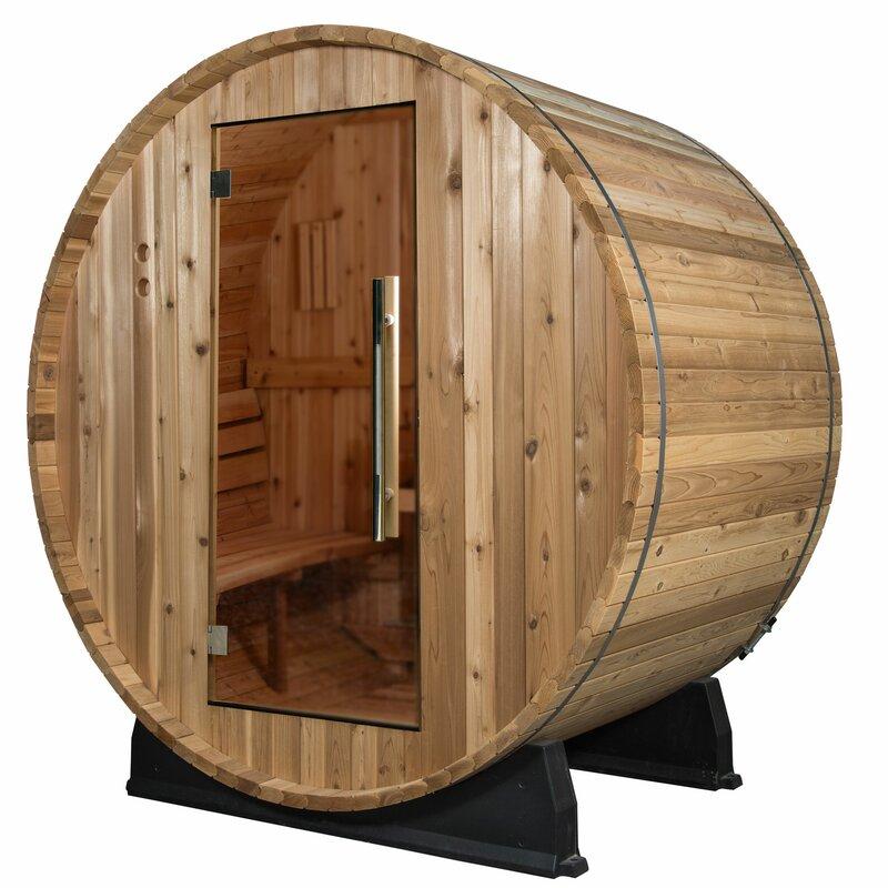Watoga Cedar 4 Person Traditional Steam Sauna