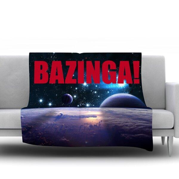 Bazinga Fleece Blanket by East Urban Home