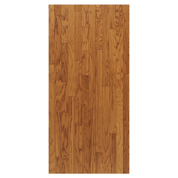 Turlington 3 Engineered Oak Hardwood Flooring in Low Glossy Butterscotch by Bruce Flooring