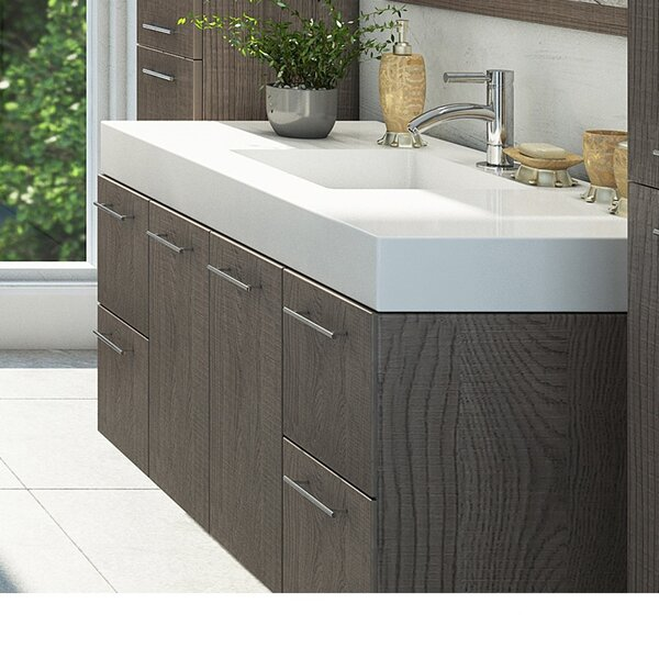Ophir 72 Wall-Mounted Double Bathroom Vanity by Or
