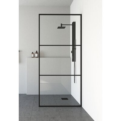 Vigo Divide Framed Fixed Glass Panel Shower Parts