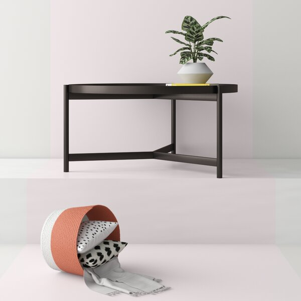 Mauricio Coffee Table with Tray Top by Hashtag Home