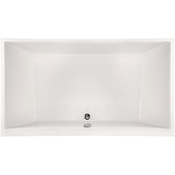 Designer Eileen 86 x 50 Soaking Bathtub by Hydro Systems