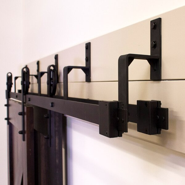 By-Pass Barn Door Hardware (Set of 5) by Custom Service Hardware