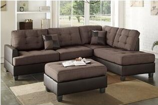 Smart Sectional with ottoman by A&J Homes Studio