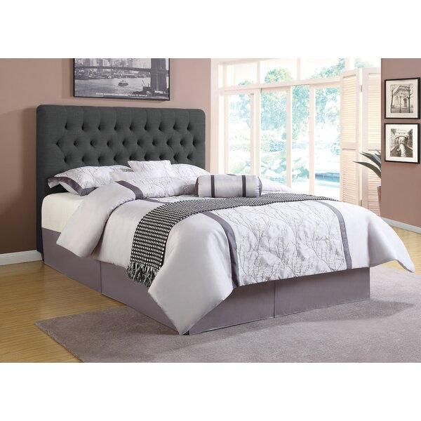 Christen Upholstered Standard Bed by Red Barrel Studio
