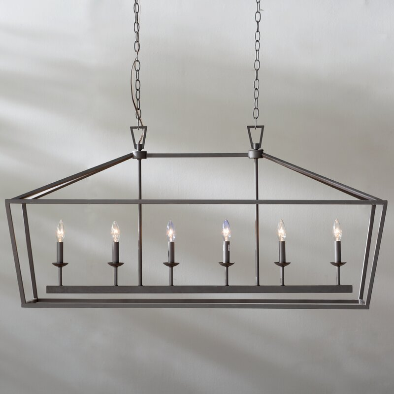 Laurel Foundry Modern Farmhouse Carmen 6-Light Geometric