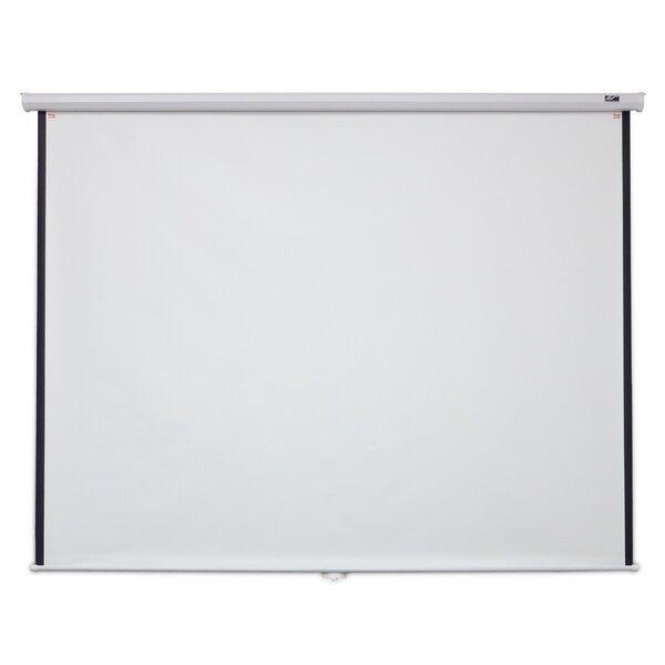 Manual B Series White 100 diagonal Manual Projection Screen by Elite Screens