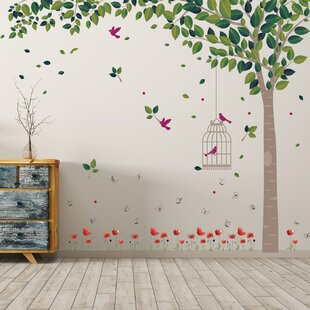 Spring Garden Wall Decal