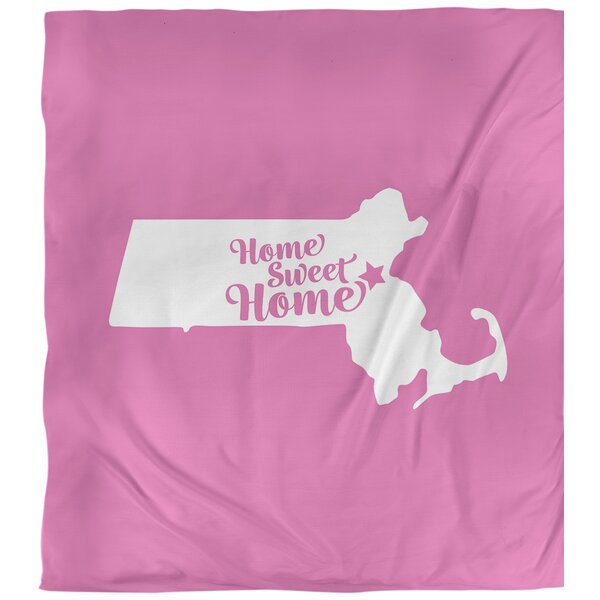 Boston Home Sweet Single Duvet Cover