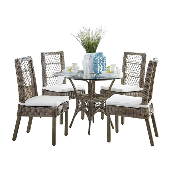 Seaside 6 Piece Dining Set by Panama Jack Sunroom