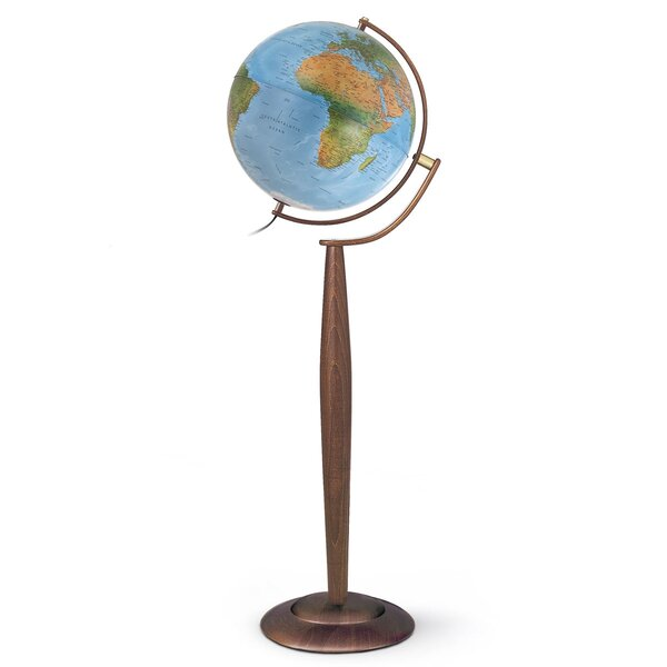 Traditional Floor Globe by Brayden Studio