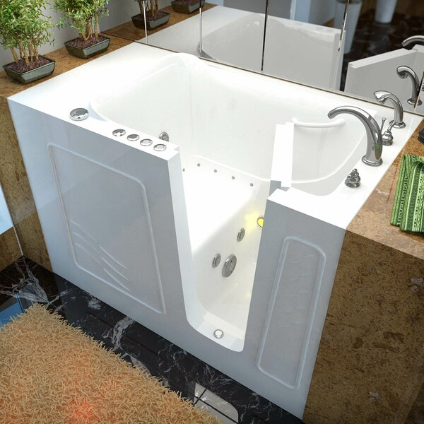 Ashton 53 x 30 Walk-In Air and Whirlpool Jetted Bathtub by Therapeutic Tubs