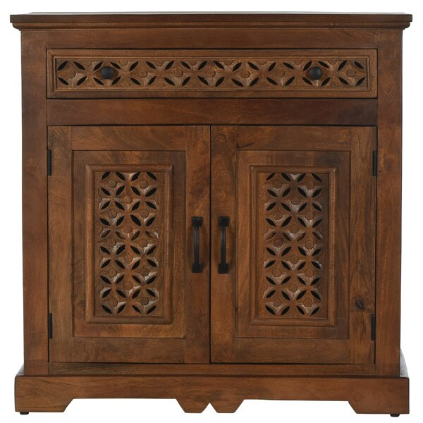 Chevell 2 Door Accent Cabinet by Bungalow Rose Bungalow Rose