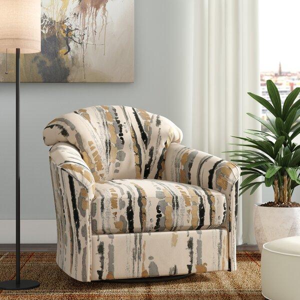 Renner Swivel Armchair by Brayden Studio Brayden Studio