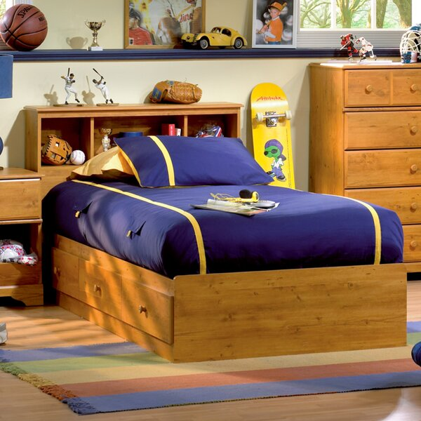 Little Treasures Twin Mates and Captains Bed with Drawers by South Shore