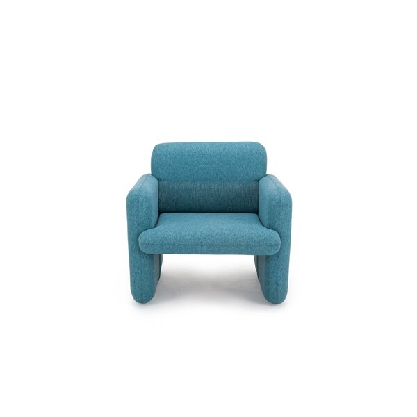 Namaka Woven Fabric Upholstered Armchair by Wrought Studio
