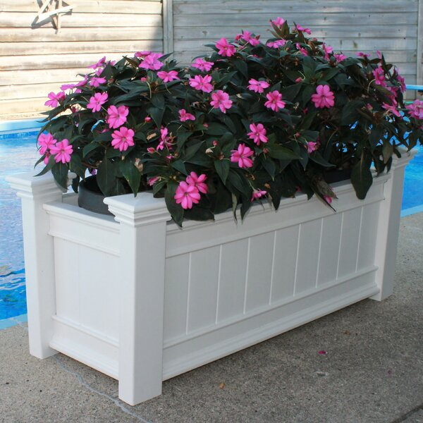 Eden Vinyl Planter Box by New England Arbors
