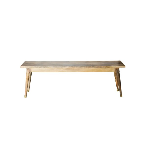 Hurd Solid Wood Bench by Foundry Select Foundry Select