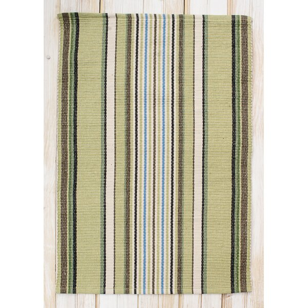 Cape Cod Seagrass Stripe Area Rug by CLM