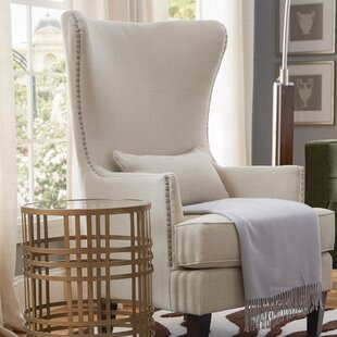 Trend Cavender Wingback Chair by Alcott Hill